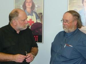 VE4BAW and VE3YRH, Rick Harrison at GTA Meeting, May 24th, 2015