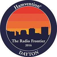 Dayton Hamvention logo: The Radio Frontier