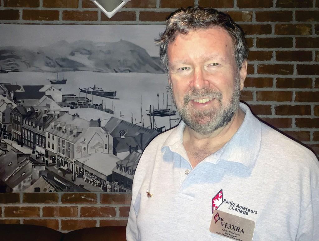 RAC President Glenn MacDonell, VE3XRA, has arrived in Newfoundland