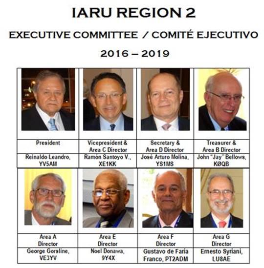 IARU R2 Executive Committee
