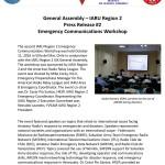 Press Release on IARU R2 Meeting in Villa Del Mar in Chile