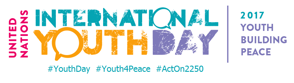 International Youth Day 2017 logo