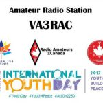 VA3RAC activation on International Youth Day