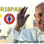 XR16PAX QSL card for Pope Francis visit to Chile 2018
