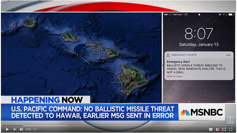 MSNBC News Report
