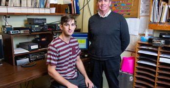 RAC Scholarship award to Alex Colpitts, V9LEX