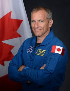 Canadian astronaut David Saint-Jacques