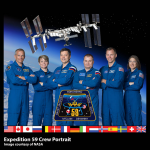 ISS Expedition 59 crew portrait