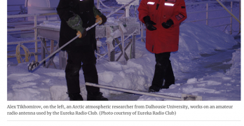 Eureka VY0ERC station news item