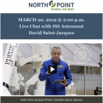 ARISS contact: North Point School for Boys promotion