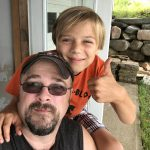 Phil McBride and his son en route to CY9C II DXpedition