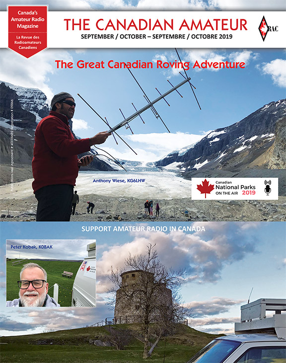 Front cover of the September-October 2019 TCA