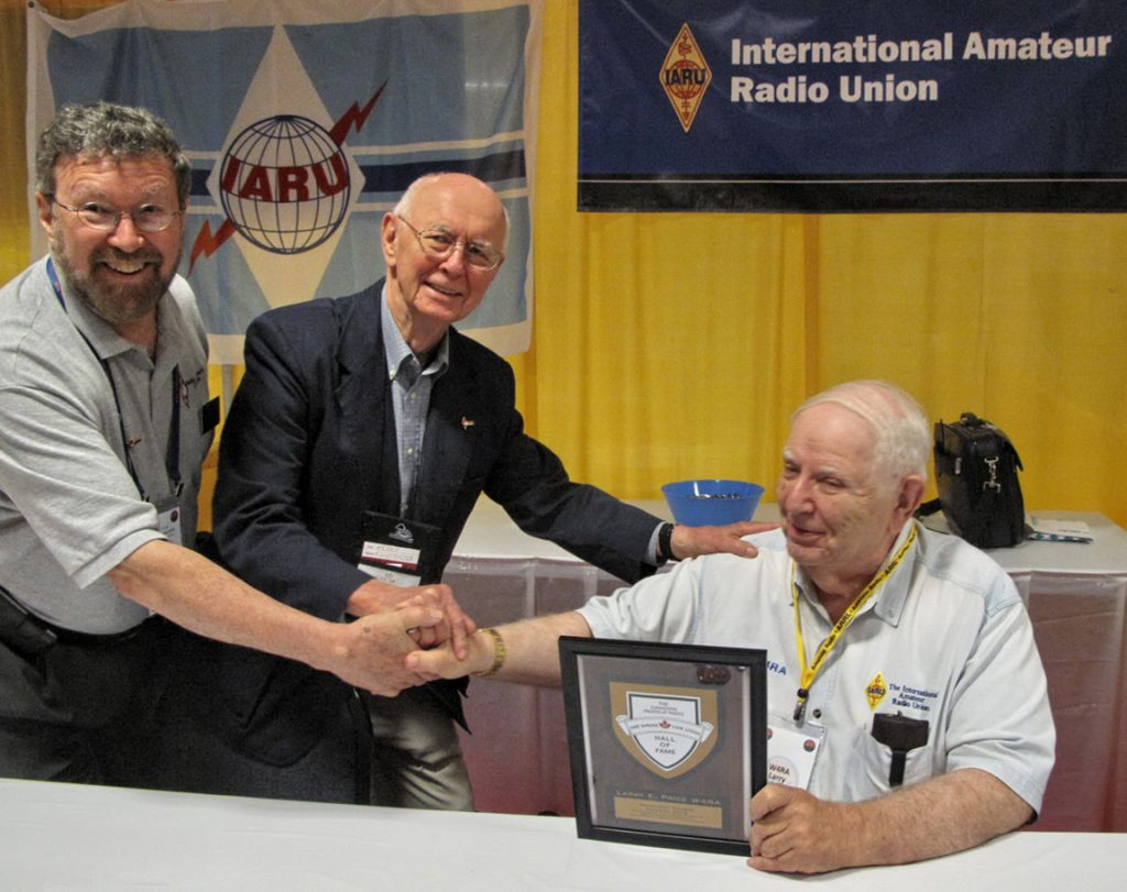 Larry Price induction ceremony into the Canadian Amateur Radio Hall of Fame in May 2016.