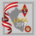 Logo for Lima 2019 meeting of the XX General Assembly of IARU Region 2