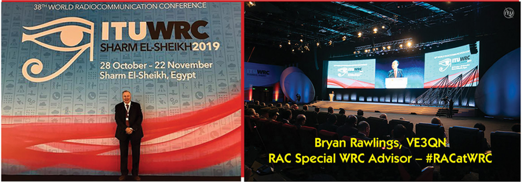 Slide of Bryan Rawlings at WRC-19