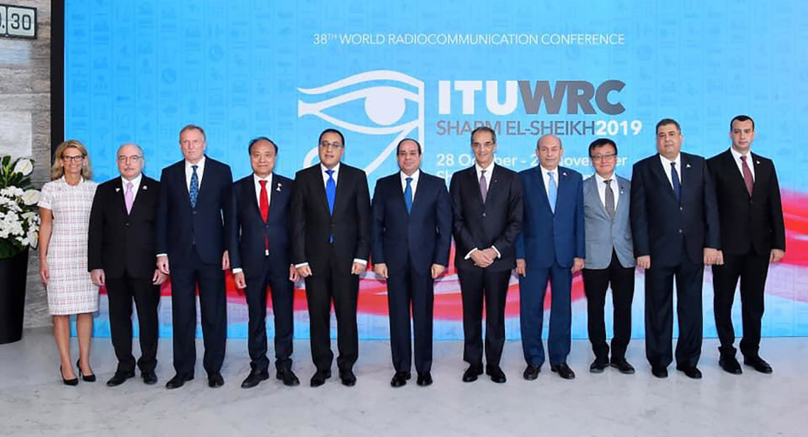 ITU WRC-19 group photo
