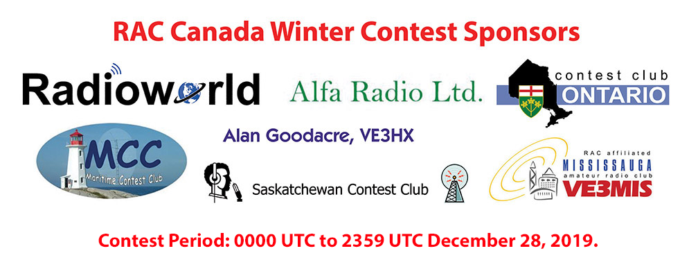 RAC Canada Winter Contest 2019