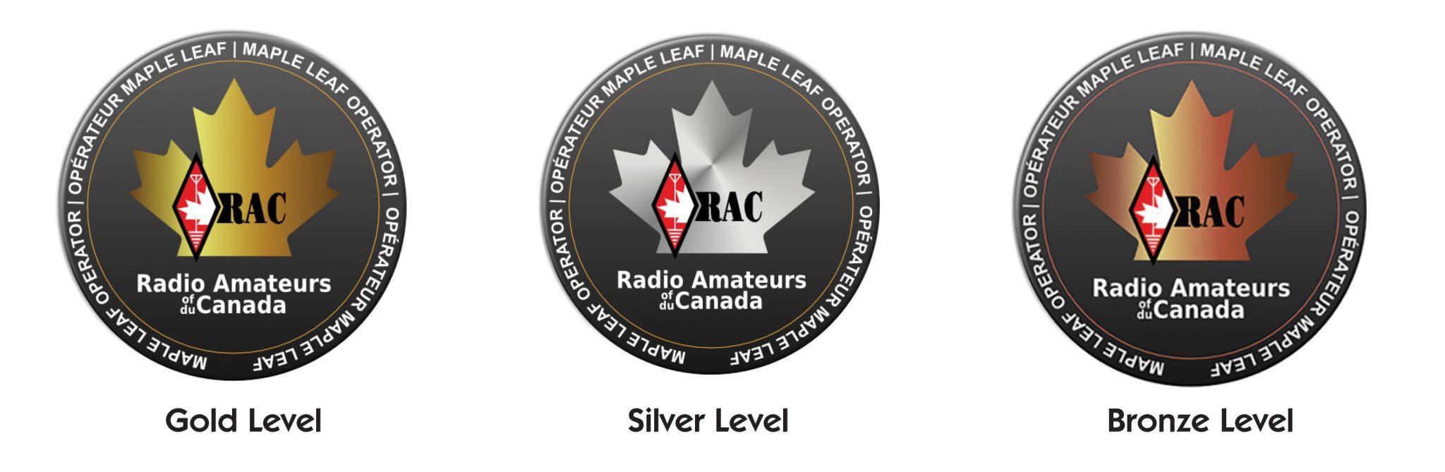 RAC Maple Leaf Operator Member logos