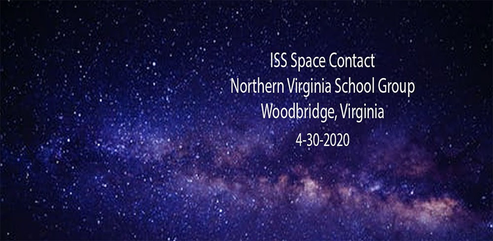 ISS Space Contact April 30, 2020