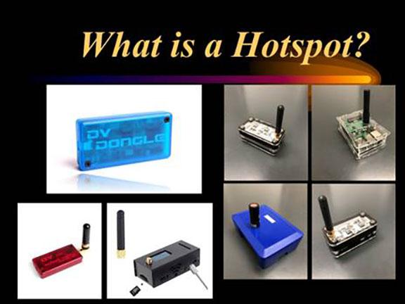 Amateur Radio Hotspots