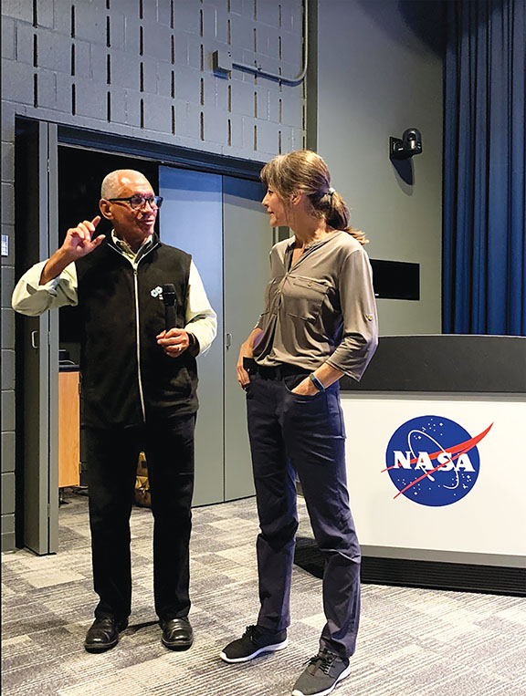 Kelly Shulman at NASA