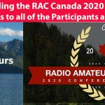 Thank You slide for RAC Canada 2020 Conference and AGM.