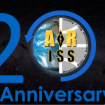 ARISS 20th Anniversary logo