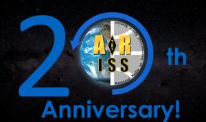 ARISS 20th Anniversary logo