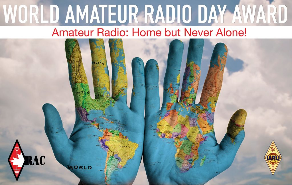World Amateur Radio Day 2021 image