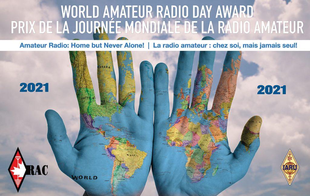World Amateur Radio Day 2021 Certificate