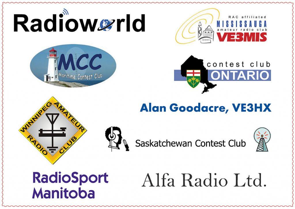 RAC Contest Sponsors