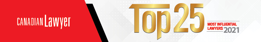 Canadian Lawyer Top 25 Contest banner