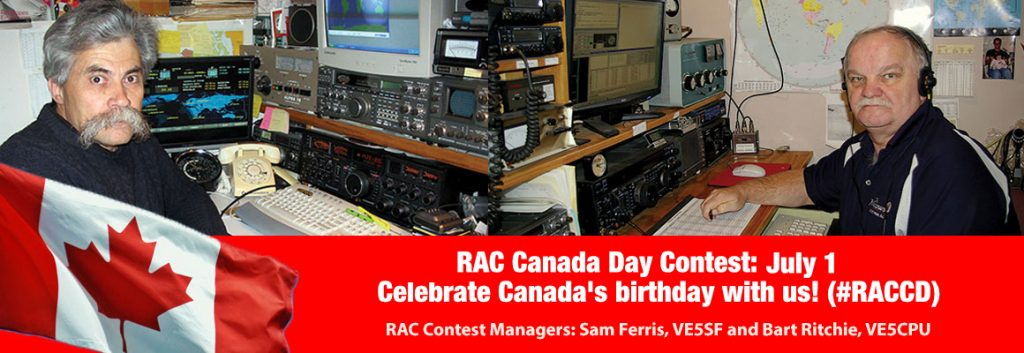 RAC Canada Day Contest Managers