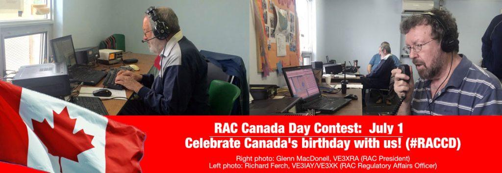 RAC Canada Day Contest