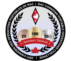 RAC Canadian Portable Operations Challenge blue logo
