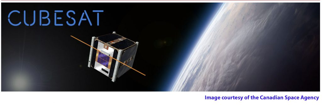 Cubesat image courtesy of the Canadian Space Agency
